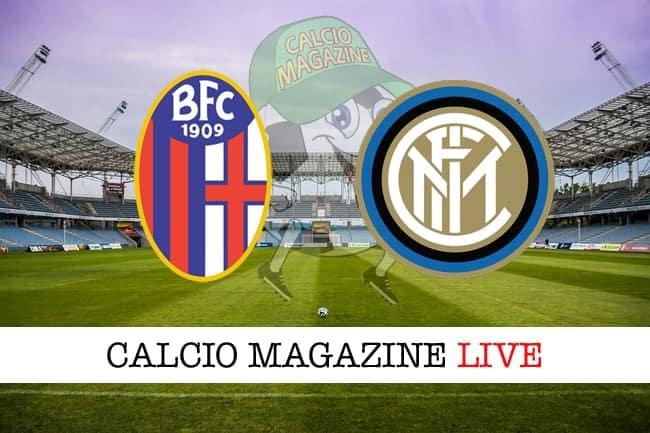 Bologna Inter cronaca diretta live risultato tempo reale