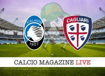 Atalanta Cagliari cronaca diretta live risultato in tempo reale