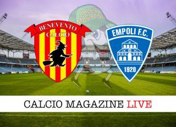 Benevento Empoli cronaca diretta live risultato in tempo reale