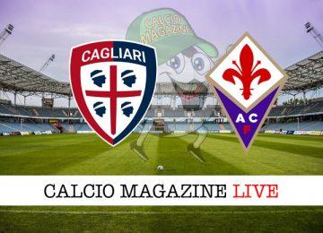 Cagliari Fiorentina cronaca diretta live risultato tempo reale
