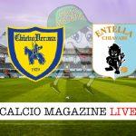 Chievo Verona Virtus Entella cronaca diretta live risultato in tempo reale