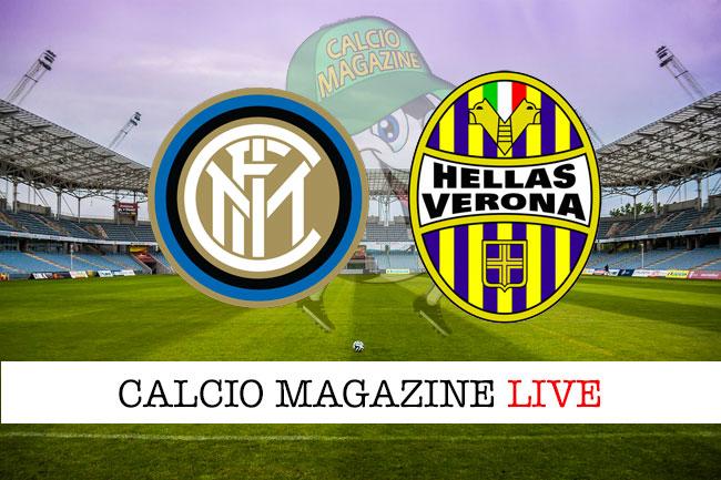 Inter - Hellas Verona 2-1, il tabellino