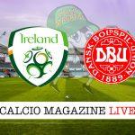 Irlanda Danimarca cronaca diretta live risultato in tempo reale