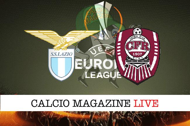 Lazio Cluj cronaca diretta live risultato in tempo reale