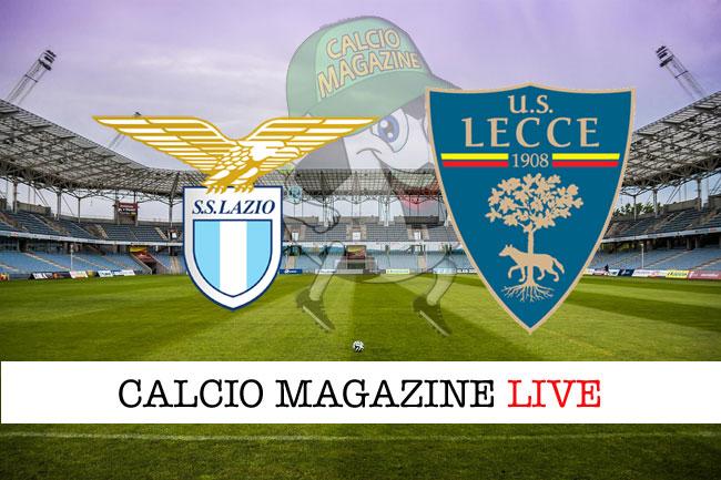 Lazio Lecce cronaca diretta live risultato tempo reale