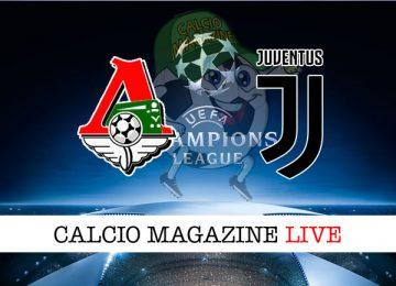 Lokomotiv Mosca Juventus cronaca diretta live risultato tempo reale