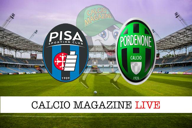 Serie B, Pisa - Pordenone: toscani dati favoriti