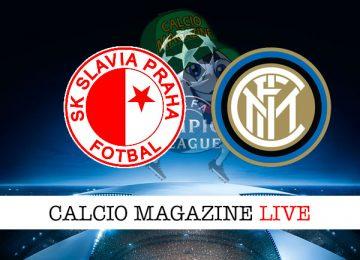 Slavia Praga Inter cronaca diretta live risultato in tempo reale