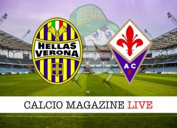 Verona Fiorentina cronaca diretta live risultato in tempo reale