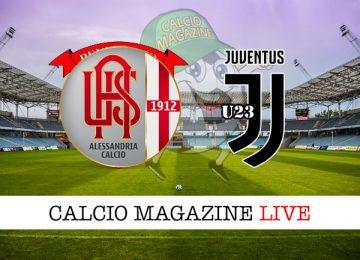 Alessandria Juventus U23 cronaca diretta live risultato in tempo reale
