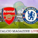 Arsenal Chelsea cronaca diretta live risultato in tempo reale