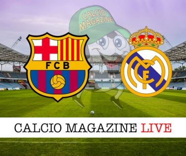 Barcellona Real Madrid cronaca diretta live risultato in tempo reale