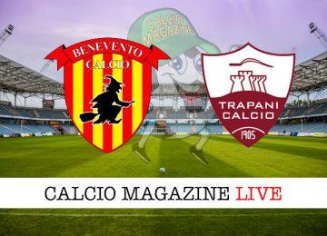 Benevento Trapani cronaca diretta live risultato in tempo reale