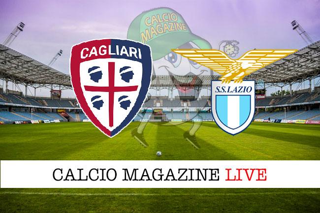 Cagliari Lazio cronaca diretta live risultato in tempo reale
