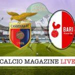 Casertana Bari cronaca diretta live risultato in tempo reale
