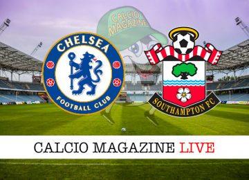 Chelsea Southampton cronaca diretta live risultato in tempo reale