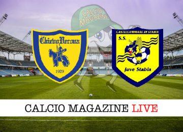 Chievo Juve Stabia cronaca diretta live risultato in tempo reale