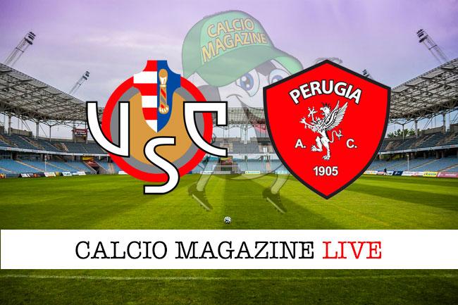 Cremonese Perugia cronaca diretta live risultato in tempo reale