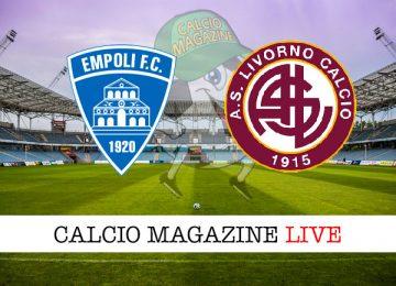 Empoli Livorno cronaca diretta live risultato in tempo reale