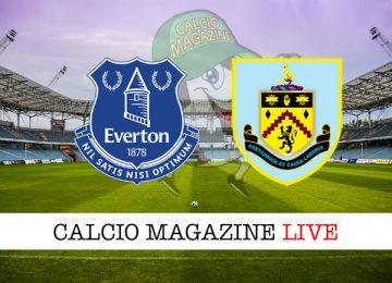 Everton Burnley cronaca diretta live risultato in tempo reale