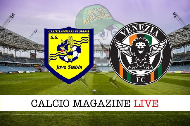 Juve Stabia Venezia cronaca diretta live risultato in tempo reale