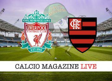 Liverpool Flamengo cronaca diretta live risultato in tempo reale