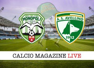 Monopoli Avellino cronaca diretta live risultato in tempo reale