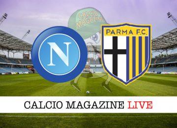 Napoli Parma cronaca diretta live risultato in tempo reale