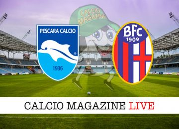 Pescara Bologna cronaca diretta live risultato in tempo reale