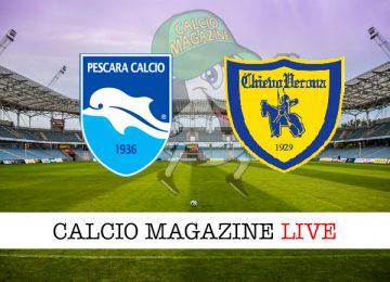 Pescara Chievo cronaca diretta live risultato in tempo reale