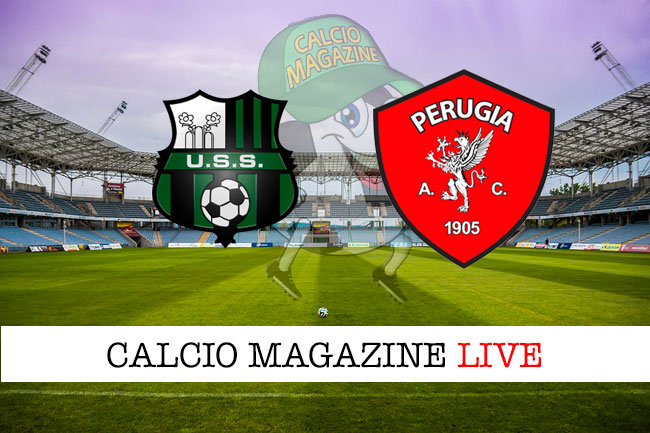 Sassuolo Perugia cronaca diretta live risultato in tempo reale