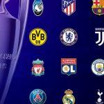 Sorteggio Champions League in diretta: gli ottavi di finale in tempo reale