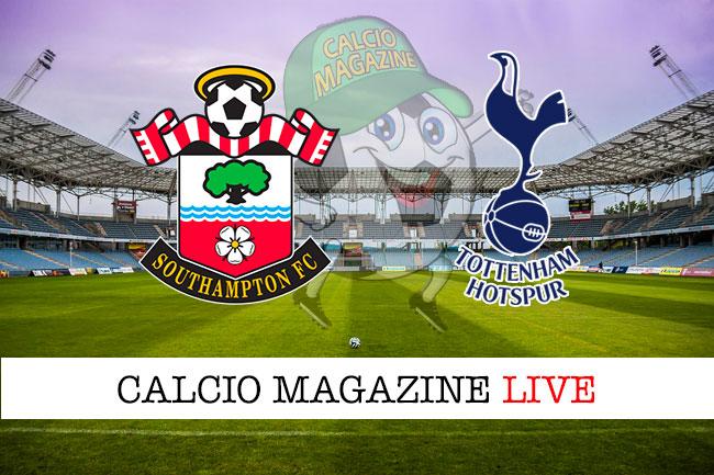 Southampton Tottenham cronaca diretta live risultato in tempo reale