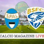 SPAL Brescia cronaca diretta live risultato in tempo reale