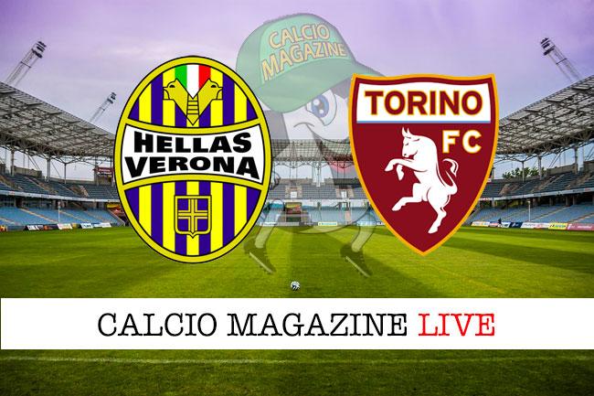 Verona Torino cronaca diretta live risultato in tempo reale