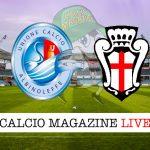 Albinoleffe Pro Vercelli cronaca diretta live risultato in tempo reale
