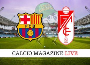 Barcellona Granada cronaca diretta live risultato in tempo reale