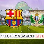 Barcellona Leganes cronaca diretta live risultato in tempo reale