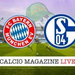 Bayern Monaco Schalke 04 cronaca diretta live risultato in tempo reale