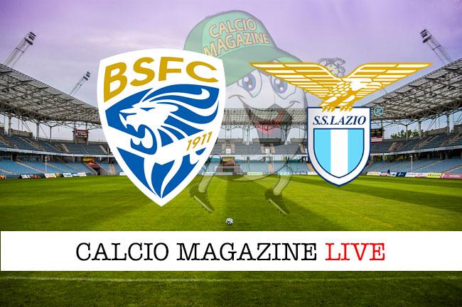 Brescia Lazio cronaca diretta live risultato in tempo reale