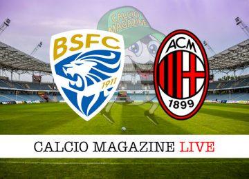 Brescia Milan cronaca diretta live risultato in tempo reale