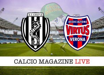 Cesena Virtus Verona cronaca diretta live risultato in tempo reale