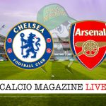Chelsea Arsenal cronaca diretta live risultato in tempo reale