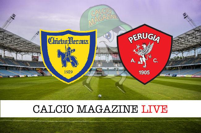 Chievo Perugia cronaca diretta live risultato in tempo reale