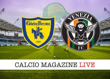 Chievo Venezia cronaca diretta live risultato in tempo reale