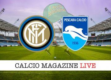 Inter Pescara cronaca diretta live risultato in tempo reale