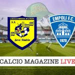 Juve Stabia Empoli cronaca diretta live risultato in tempo reale
