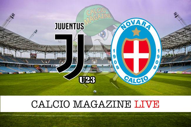 Juventus under 23 Novara cronaca diretta live risultato in tempo reale