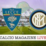 Lecce Inter cronaca diretta live risultato in tempo reale