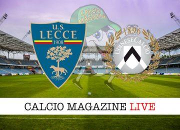 Lecce Udinese cronaca diretta live risultato in tempo reale